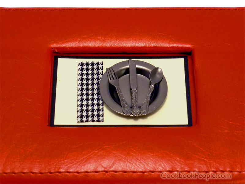 Top design on Bon Appetit recipe card box