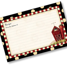 4x6 Recipe Card  - Dotty Farm