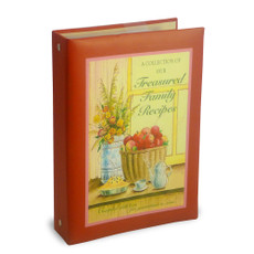 Mini Binder - Treasured Family Recipes