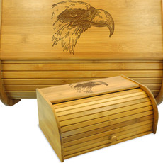 Bald Eagle Bread Box