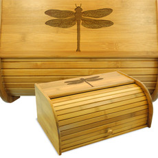 Dragonfly  Bamboo Bread Box