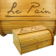 French Breadbox Bamboo Breadbin