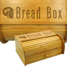 Skull Wood Bread Bin