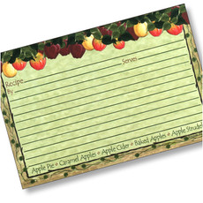 4x6 Apple Cider Recipe Card