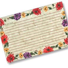 4x6 Buzz'n Zinnias Recipe Card