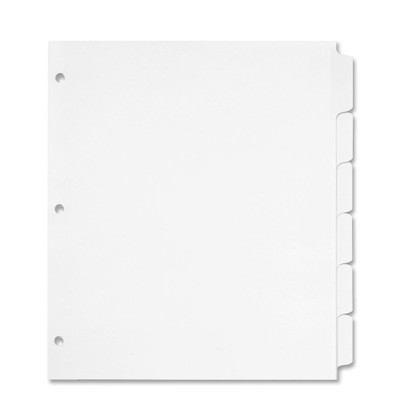 Tab Dividers For Full Size 8 5x11 3 Ring Binders
