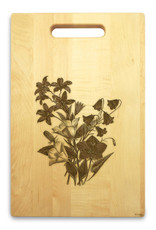 Bellflower 10x16 Handle Cutting Board