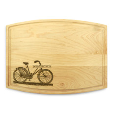 Bicycle 9x12 Grooved Chopping Board