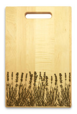 Lavender 10x16 Handle Cutting Board Maple Made in USA