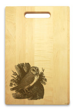 Owl 10x16 Handle Custom Cutting Board