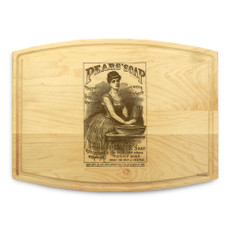 Pears Soap 9x12 Grooved Custom Cutting Board