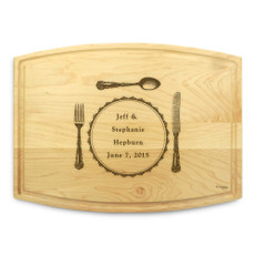 Silverware 9x12 Grooved Chopping Board