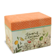 4 x 6 Recipe Box-Fruit Fusion