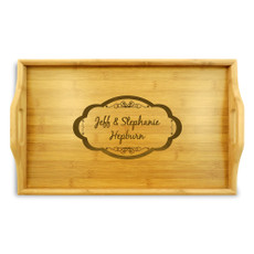 Moderna Bamboo Wood Tray