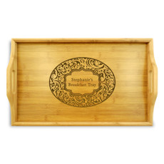 Paisley Serving Tray