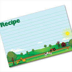4x6 Recipe Card Sunrise Family Farm  40ea