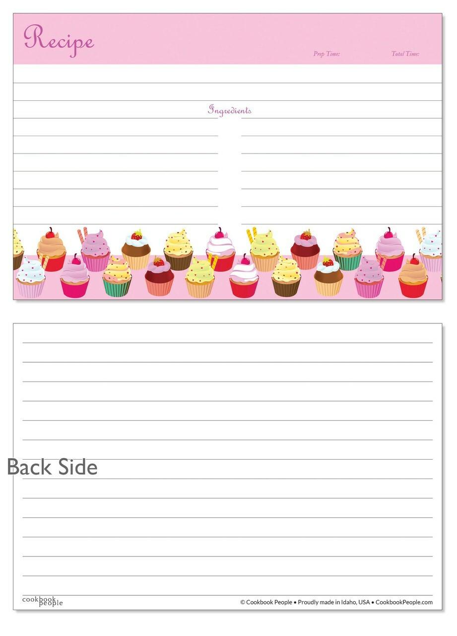 Pink recipe cards idealstalist pink recipe cards forumfinder Images