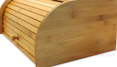 Rolltop Breadbox Bamboo Unengraved