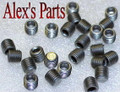 "1/16"" PIPE PLUGS, NOS INJECTOR HOLE PLUGS, HEX STYLE, STEEL, 8 PACK"