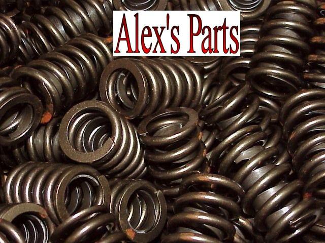 Chevy SB 283 327 350 400 Valves+Z28 Springs+Retainers+Locks+Seals+Rocker Studs