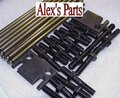 ROCKER STUDS, GUIDE PLATES AND PUSHRODS, SB FORD 289