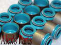 "11/32"" X .484"" VALVE SEALS, VITON, FIXED BODY, FITS .481""-.486"" GUIDES"
