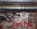 """VALVE SEATS, 1.687"""" x 1.406"""" x .250""""  Universal, FE Ford, 352-428 to suit 1.561"""" Exh, Set of eight"""