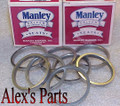 """VALVE SEATS, 2.125"""" x 1.875"""" x .250"""", Universal, Buick, Cadillac, Ford, Olds, Pontiac, Set of eight"""