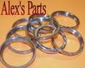 "VALVE SEATS, 1.562"" x 1.312"" x .187"", Universal, Buick, Chev, GMC, Ford, Mazda, Pont, Olds, Set of 4"