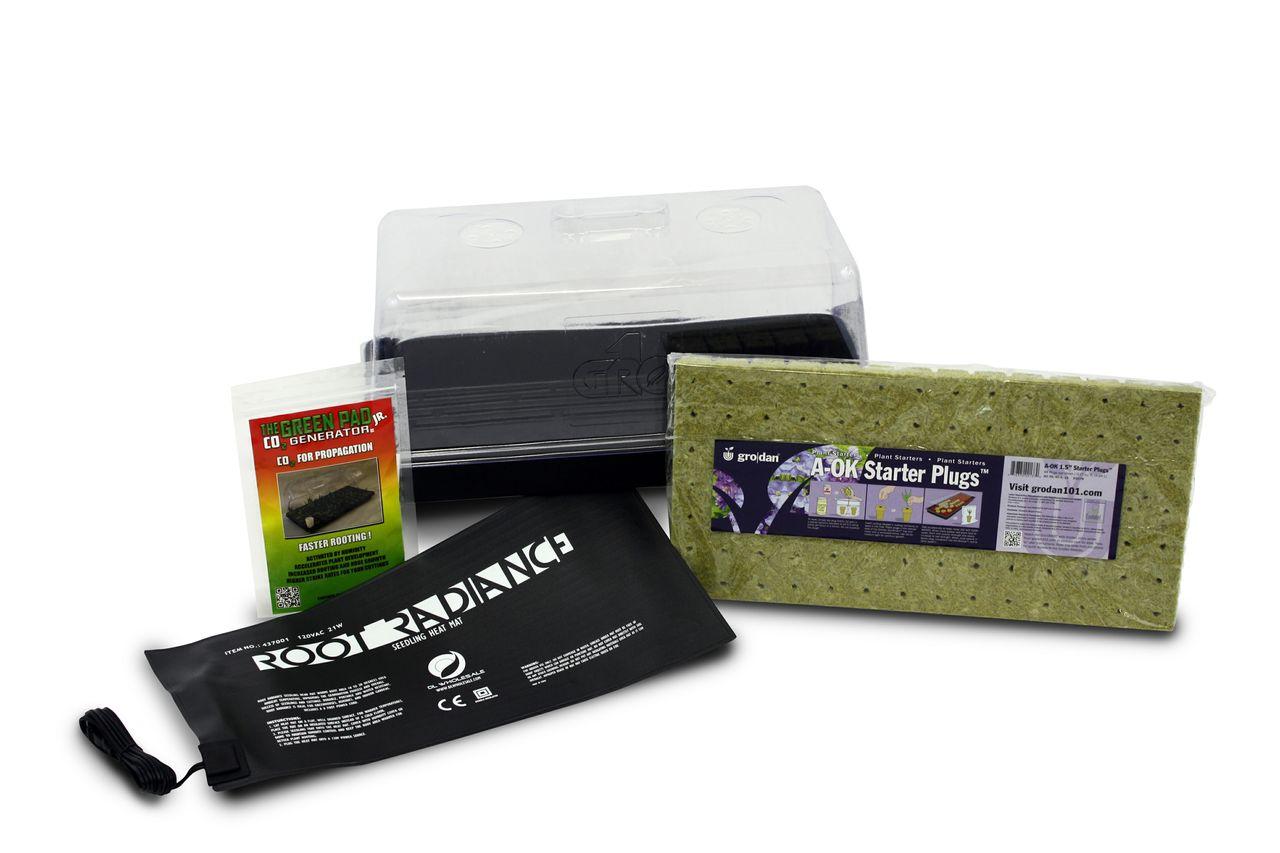 Hydroponic Seed Starter Kit