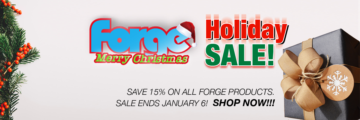 Forge Holiday Sale