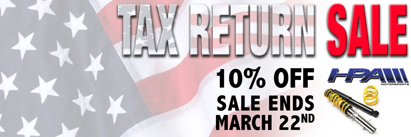 HPA Sale tax return save 10%