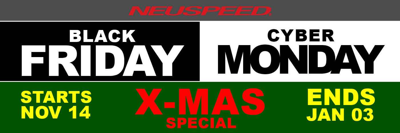 neuspeed, Black Friday, cyber, today, holiday, sale, special