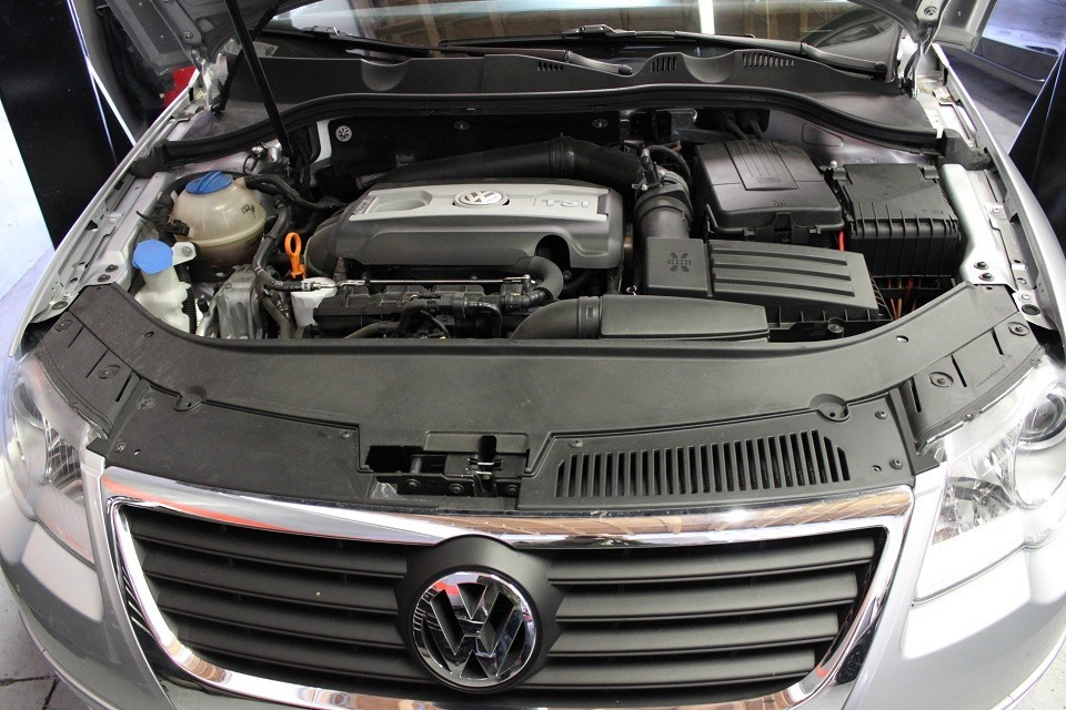 passat before intake