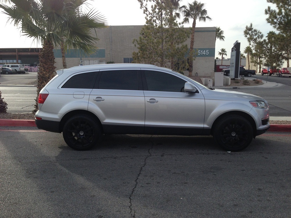 Eurotek Tuning Las Vegas: 2008 Audi Q7 with an EVOMS ECU Stage 1 Tune