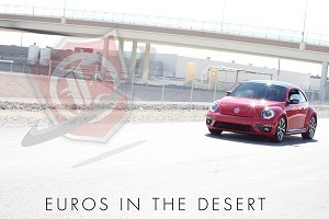 Euros In the Desert VW Beetle