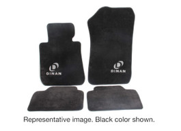 DINAN Signature Tan Floor Mats for 2012-2018 BMW 3-SERIES F30/31 & F80