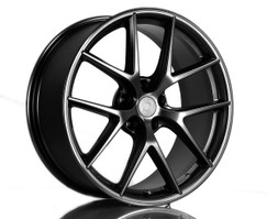 BBS CI-R 19-inch Black Wheel Set for F22/F23 BMW 228I/230I/M235I/M240I with Dinan Center Cap (D750-0090-CIR-BLK)