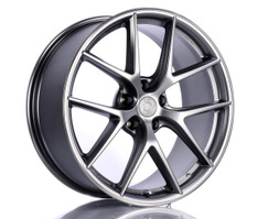 BBS CI-R 19-inch Silver Wheel Set for F22/F23 BMW 228I/230I/M235I/M240I with Dinan Center Cap (D750-0090-CIR-SIL)