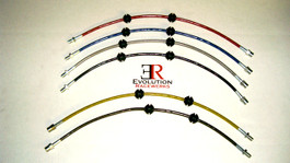 Evolution Racerwerks (ER) Stainless Steelbraided Brakelines