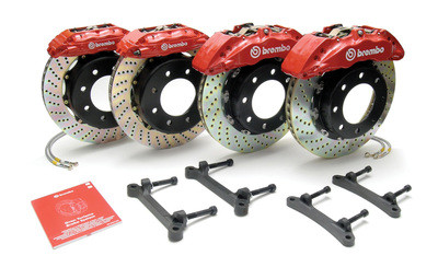 Brembo Brake Kit >> E82 Coupe Brembo Gt Series Big Brake Kit For 1 Series Rear Only