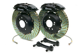 Brembo Rear 4 Piston Calipers with 328x28 2-Piece Drilled or Slotted Rotors