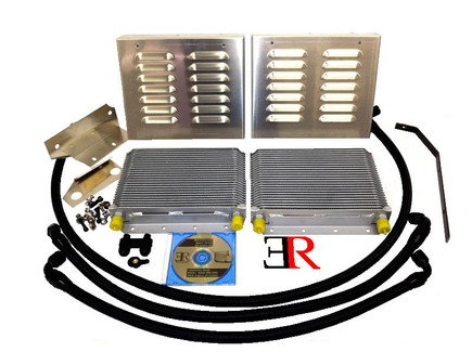 ER Competition Series Oil Cooler Upgrade Kit for N54, N55 (BM-COOL001)