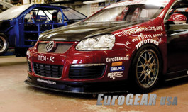 EuroGEAR VW GTI MKV Notchless Carbon Fiber Hood