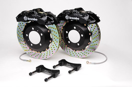 Brembo Front 6 Piston Calipers with 355x32 2-Piece Drilled or Slotted Rotors for MKIV R32