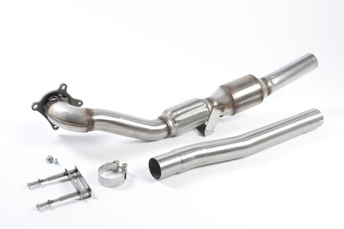 "Milltek 3"" Cast Downpipe w/ HJS Sports Cat for FWD/AWD VW/Audi 2.0 TSI/FSI (SSXAU200)"