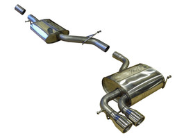 Milltek Exhaust System for A3, Jetta 2.0T Quattro Cat-back non-resonated (louder)