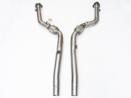 Milltek Highflow Catted Downpipes for Audi B6 & B7 S4 6 speed