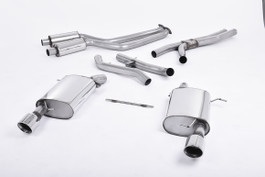 Milltek Cat-Back Exhaust System for BMW 3 Series E92 335i Coupé, 2006 to 2013 (SSXBM014)