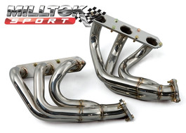 Milltek 911 996 Turbo Free-flow Manifolds - Fits K16 Turbo only